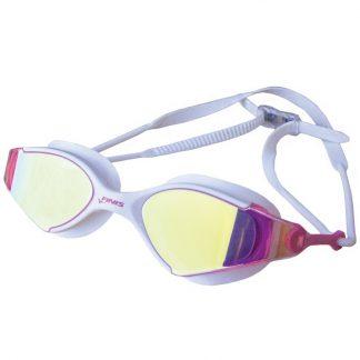 Gafas FINIS Voltage, Blanco/Rosa Espejo