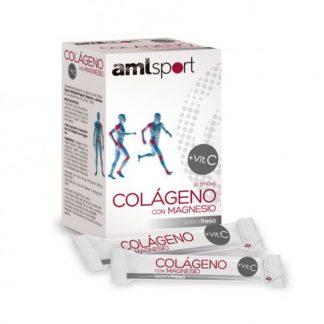 Colágeno con magnesio + Vit C AML sport